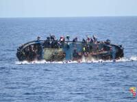 Ambarcatiune cu sute de migranti naufragiata in largul insulei Creta. Operatiune de amploare pentru salvarea victimelor