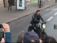 Tom Cruise a revenit in pielea persoanjului Ethan Hunt. Ipostazele in care a fost filmat actorul
