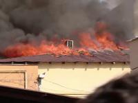 Incendiu la un centru al Protectiei Copilului Vaslui. Minorii au fost evacuati de urgenta