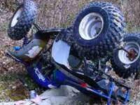 O femeie cu o alcoolemie de 1,66 la mie s-a rasturnat cu ATV-ul. Unde a ajuns victima dupa accident