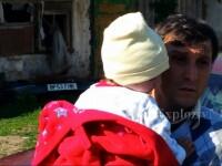 Copilul salvat dupa 10 ore din put a fost externat in ziua in care mama lui a nascut o fetita. Tatal: