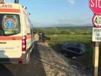 Un sofer din Gorj a supravietuit miraculos dupa ce a traversat o cale ferata fara sa se asigure