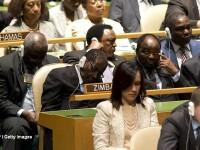 Purtatorul de cuvant il apara pe presedintele Mugabe.