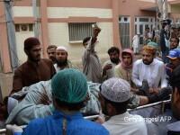 25 de persoane au murit, in urma unei explozii care a lovit un convoi al vicepresedintelui Senatului din Pakistan