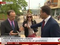 Prezentator BBC, in presa britanica in urma unui gest facut in timpul unui LIVE. Explicatia jurnalistului. VIDEO
