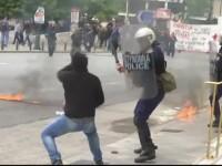 Proteste violente in Grecia impotriva austeritatii. Care sunt nemultumirile grecilor si ce masuri au luat autoritatile elene