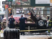 O masina a intrat in trecatori, in Times Square din New York: un om a murit si 12 sunt raniti. Soferul, un fost militar