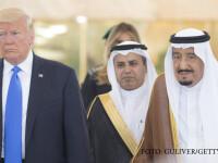 Donald Trump a ajuns in Arabia Saudita, in prima sa vizita de stat. Cum s-a imbracat Prima Doamna FOTO