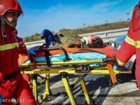 A intrat cu ATV-ul pe Valea Oltului fara sa se asigure si a ajuns in coma la spital. Care este starea celuilalt ranit