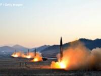Racheta lansata de Coreea de Nord a ajuns la o altitudine de 560 de kilometri. Unde s-a prabusit