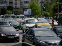 Trafic blocat pe Centura Capitalei din caza unei tevi de gaze fisurate