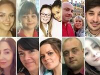 13 dintre victimele atentatului din Manchester, identificate. Printre ele, doi parinti polonezi care isi asteptau fiicele
