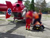 Copil de 12 ani, ranit grav intr-un accident, in drum spre casa. Baiatul s-a dezechilibrat si a cazut in fata masinii