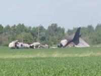 Un mort si cinci raniti, dupa ce un avion s-a prabusit in Rusia. VIDEO
