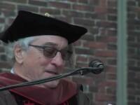 Robert De Niro, discurs tragi-comic la o ceremonie de absolvire.