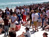Început de sezon estival în forță, la Mamaia. 40.000 de turiști sunt în stațiune