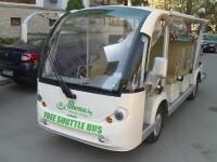 Distracțiile din Bulgaria. Vizitatorii se plimbă gratis cu mașini electrice