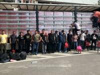 34 de solicitanți de azil din Iran și Irak, prinși când încercau să fugă din România