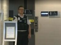 Cadavrul unui bărbat a fost descoperit în peretele unei toalete pentru femei