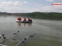 S-au reluat căutările în cazul bărbatului care s-a înecat, sâmbătă, în Dunăre