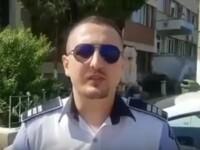 Un polițist arădean a salvat o femeie care voia să se sinucidă. VIDEO