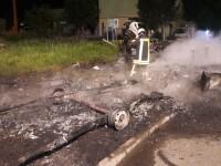 Incendiu provocat acasă la directorul AJOFM Arad. Focul, pus intenționat de un chiriaș