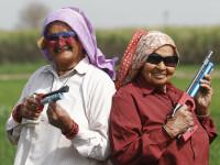 """Trăgătoare de elită la vârsta de 86 de ani. Povestea lui Tomar, """"bunicuța revolver"""""""