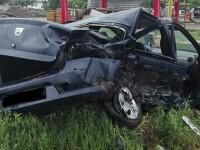 Un mort şi doi răniţi într-un accident rutier pe E85, în Suceava