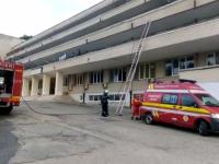 Incendiu la un spital din judeţul Argeş. Mai mulţi pacienţi, evacuaţi