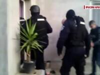 Percheziții la persoane care ar fi comis jafurile din Sinești, după ce înțepau roțile mașinilor