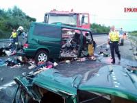 Accidentul din Ungaria: O familie şi-a pierdut doi fii şi nora. Printre victime sunt și doi soți