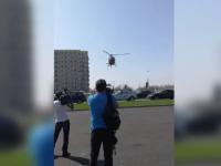 Pilotul elicopterului care a provocat haos la Mamaia, cercetat de Autoritatea Aeronautică Civilă