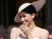 Motivul pentru care Meghan Markle a râs cu poftă la prima apariție publică în calitate de Ducesă