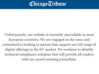 Site-urile mai multor publicații americane sunt blocate, ca urmare a intrării în vigoare a GDPR