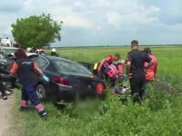 Scene cumplite pe DN71. Un mort și 4 răniți, după o depășire periculoasă