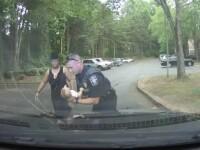 VIDEO emoționant cu momentul în care un polițist din New Mexico salvează un bebeluș