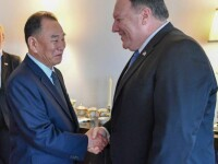 Pompeo se va întâlni cu mâna dreaptă a lui Kim Jong-un. Când are loc întrevederea