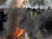 Proteste de amploare de Ziua Muncii. Zona din Rusia unde oamenii au purtat veste galbene