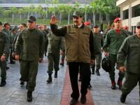 """Cel puţin 2 morţi în ciocnirile din Venezuela. Maduro a anunţat că a învins """"complotul"""""""