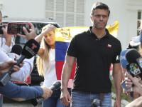 Spania refuză să i-l predea lui Maduro pe liderul opoziţiei din Venezuela