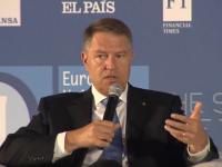 "Președintele Klaus Iohannis, la Sibiu: ""Capitala Europei va fi în România"""