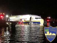 """Cum s-au salvat pasagerii după ce un Boeing 737 a aterizat pe un râu. """"Este un miracol"""""""