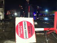 Restaurant distrus de flăcări, din cauza unui șofer. Greșeala comisă de bărbat