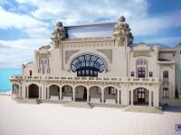 Cum va arăta Cazinoul din Constanţa după reparaţii. Guvernul a reaprobat proiectul
