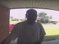 """Ce a pățit un bărbat când a vrut să intre în casa prietenului său. """"Eram șocat"""". VIDEO"""