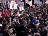 Liviu Dragnea, baie de mulțime la Iași. VIDEO