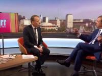 """Nigel Farage, foarte nervos la BBC: """"Nu am văzut în viața mea un interviu mai ridicol"""""""