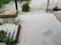 Dezastrul provocat de grindină în Dâmbovița. În județ nu există stații de rachete antigrindină