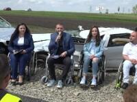 """Mandachi, întâlnire cu victime ale accidentelor rutiere, la Suceava: """"Vă aflaţi în judeţul morţii"""""""