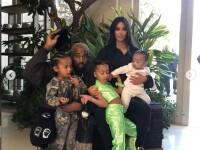 Prima imagine cu al 4-lea copil al lui Kim Kardashian și Kanye West. Ce nume are. FOTO